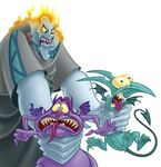 Hades with Pain and Panic Promotional