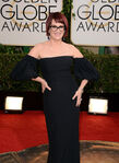 Megan Mullally 71st Golden Globes