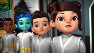 Miles, Loretta, Haruna and Mirandos in Gi Guit