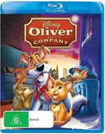 Oliver & Company 2013 AUS Blu Ray