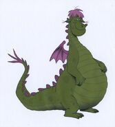 Pete's Dragon Animation Color Model Cel - Elliott