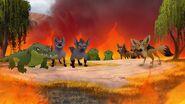 Scar's Army Fire