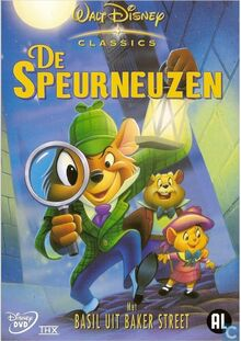 The Great Mouse Detective 2003 Dutch DVD