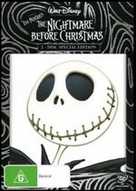 The Nightmare Before Christmas 2008 AUS DVD