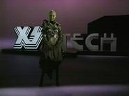 Tyra Banks Alien Encounter