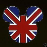 UK Flag pin