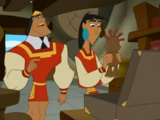 Kronk Moves In