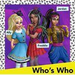 Who's Who - Ally, Freddie, Jordan