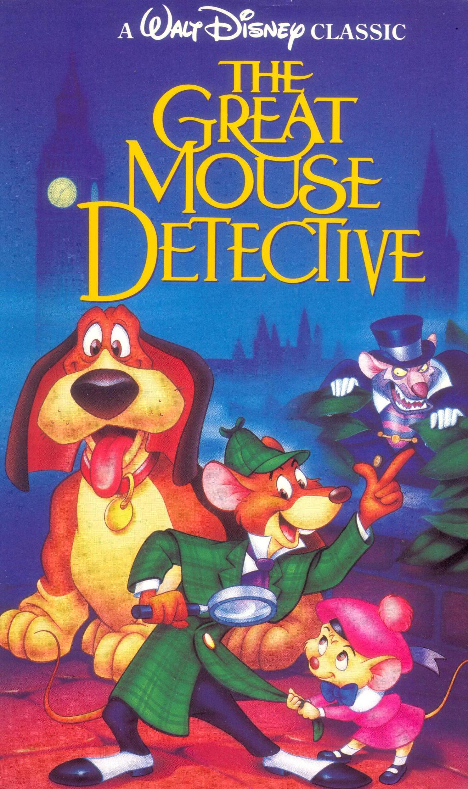 The great mouse detective video disney wiki fandom for Classic house 1992