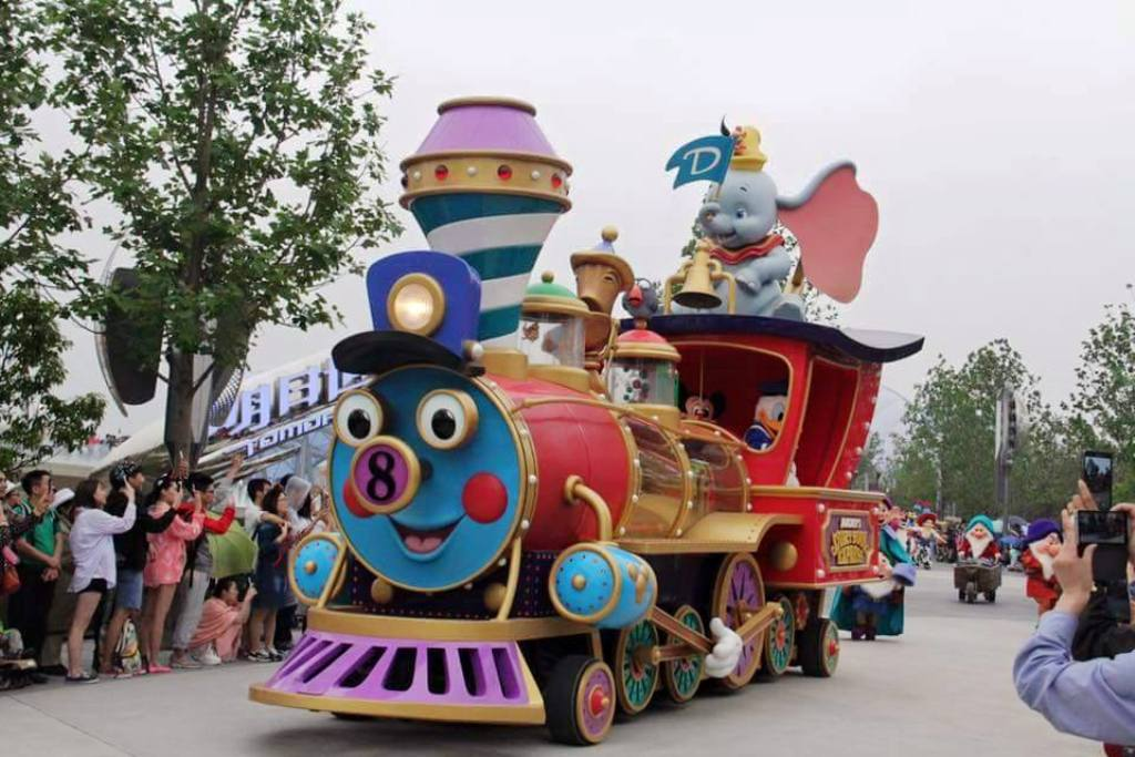 SHDR Lotso Bear toy story statue figure Shanghai Disneyland Disney Park