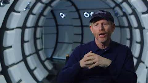 SOLO Behind The Scenes Ron Howard Interview - A Star Wars Story