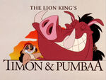Timon and pumbaa-show