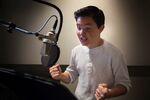 Zach Calison recording