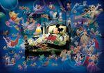 Disney Mickey's Dream Fantasy Glow in the Dark