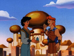Hercules and Aladdin