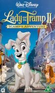 Lady and the tramp ii uk vhs