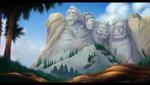Mount Rushmore Caballeros
