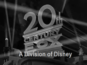 Old Fox Logo with Disney Byline