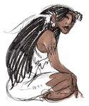 Pocahontas Concept Art (2)
