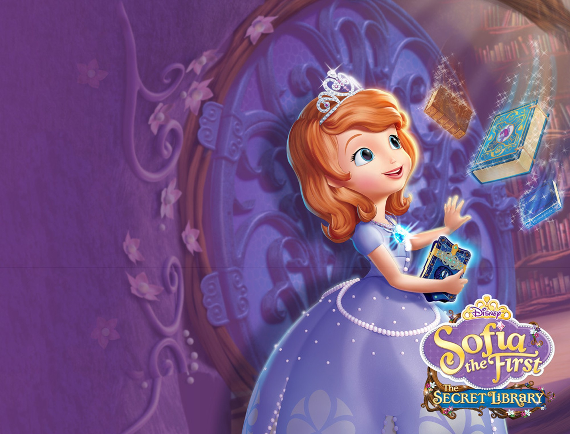 Image - Sofia-The-First-The-Secret-Library-Wallpaper.jpg ...