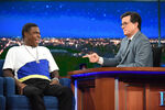 Tracy Morgan visits Stephen Colbert