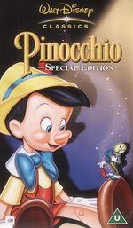 UK Pinocchio VHS mid 90s