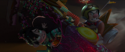 Wreck-It Ralph - Candy harms Vanellope