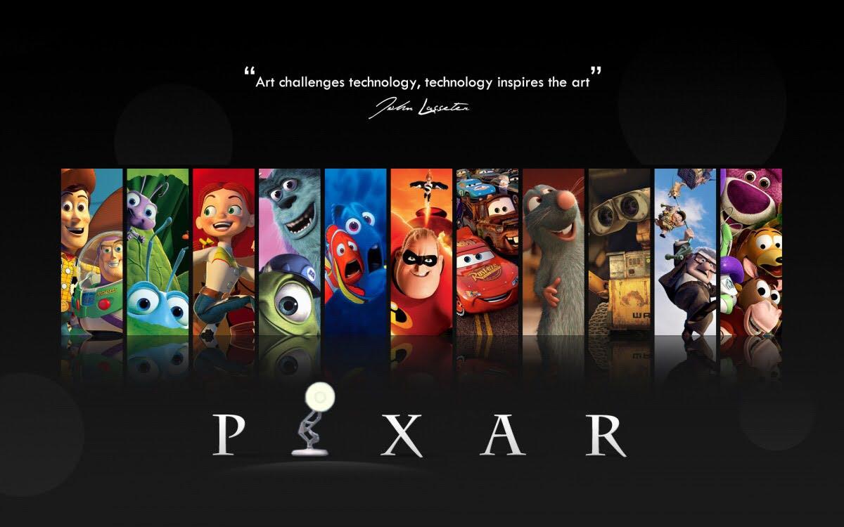 نتيجة بحث الصور عن pixar and disney