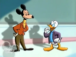 Donald confronts Mortimer