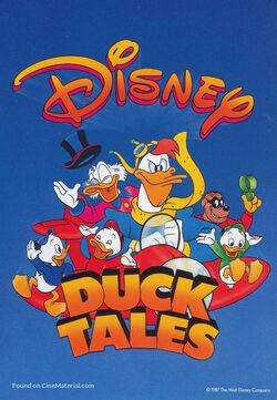 DuckTales 1987 poster