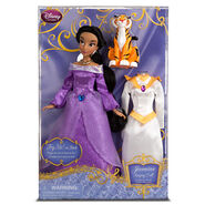 Jasmine Singing Doll and Costume Set Boxed