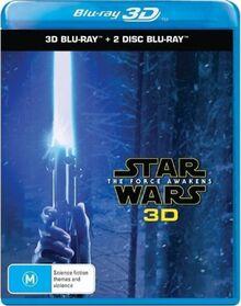 Star Wars The Force Awakens 2016 AUS Blu Ray 3D