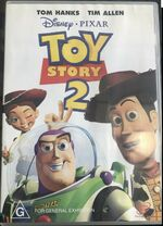 Toy Story 2 2000 AUS DVD