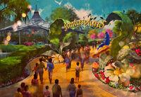 WDW-new-fantasyland - Alice 01