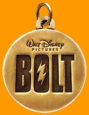 Bolt logo orange template