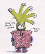 Boo Monster Costume Concept