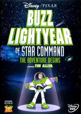 Buzz Lightyear do Comando Estelar A Aventura Começa Poster