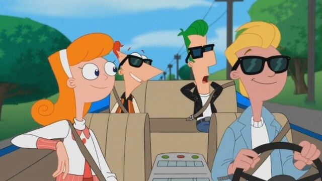 File:Candace, Jeremy, Phineas, and Ferb in the car.jpg