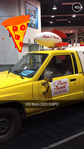 Pizza Planet Truck at D23