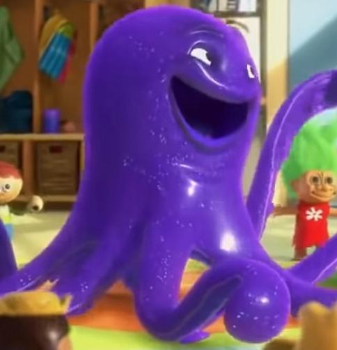 Octopus /'Stretch/' Dark Purple Toy Story LEGO
