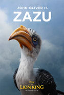 The Lion King (2019) - Zazu