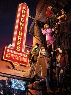 Adventures in Babysitting 2016 Poster