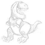 Butch The Good Dinosaur Concept Art