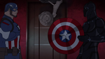 Cap and Panther Secret Wars 06