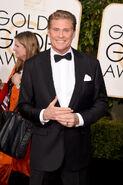 David Hasselhoff 73rd Golden Globes