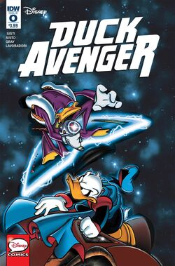 Duck Avenger issue 0