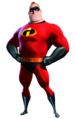 Mr Incredible transparent