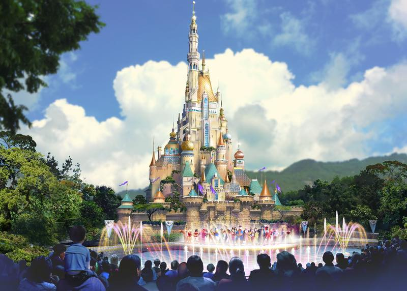 Hong Kong Disneyland Disney Wiki Fandom Powered By Wikia