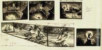 Peter Pan storyboard 2