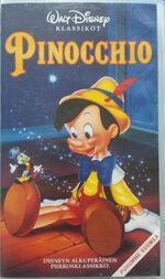 Pinocchio finnish vhs 90s